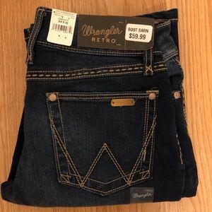 NWT Wrangler Retro Bootcut Jeans